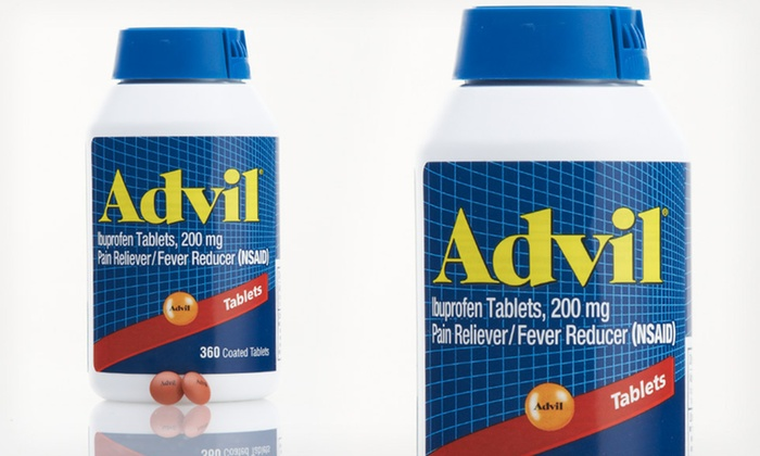 Advil Ibuprofen 200mg nhanh chóng làm dịu các cơn đau