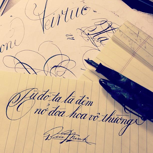 Nhận biết tính cách qua cách viết mỗi chữ cái