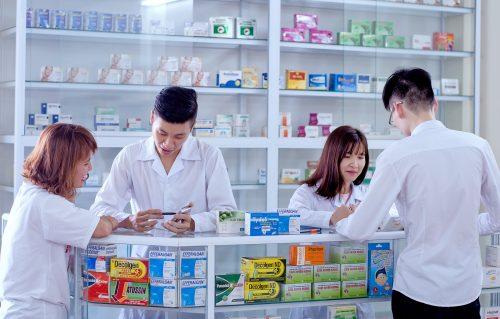 Quầy thuốc thực hành Trường Cao đẳng Y Dược Pasteur