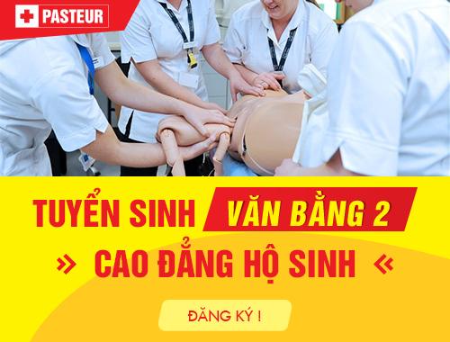 Tuyển sinh Văn bằng 2 Cao đẳng Hộ sinh Hà Nội năm 2018