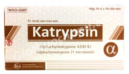 dùng thuốc katrypsin có tốt không