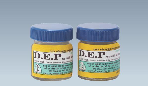 Thuốc DEP đặc trị ghẻ ngứa