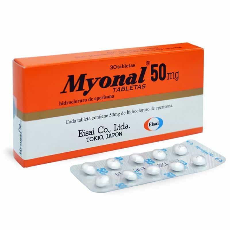 Liều dùng và cách dùng thuốc myonal 50mg