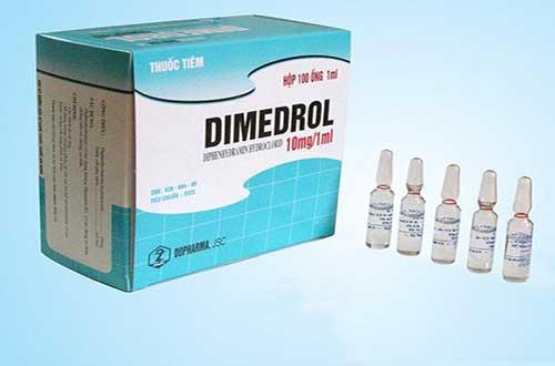 Tác dụng phụ khi sử dụng thuốc Dimedrol