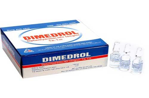 Thuốc Dimedrol có những tác dụng gì?