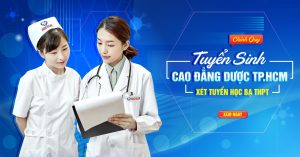 Tuyển Sinh Cao đẳng Dược TPHCM chính quy xét học bạ THPT