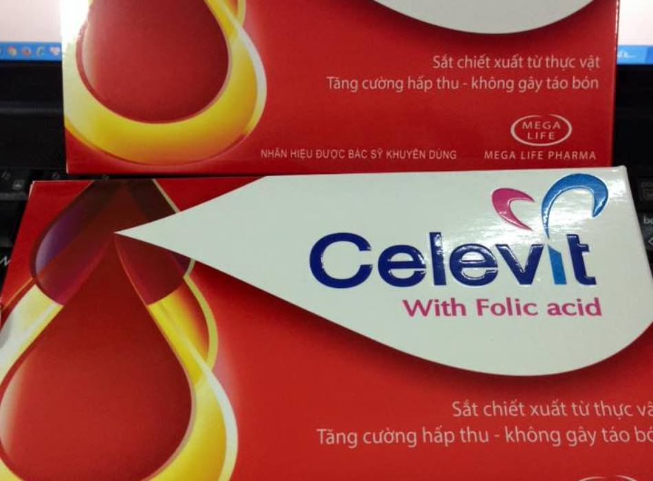 Celevit folic thuốc bổ sung sắt dành cho bà bầu