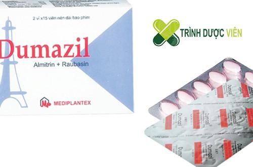 Thuốc điều trị rối loạn tinh thần, tai biến mạch máu não Dumazil