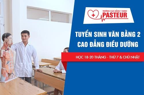 Mức học phí Cao đẳng Điều dưỡng Sài Gòn hệ Văn bằng 2 năm 2018