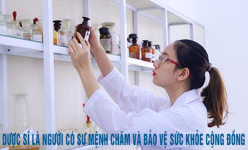 Dược sĩ giữ vai trò quan trọng trong việc chăm sóc bảo vệ sức khỏe cộng đồng