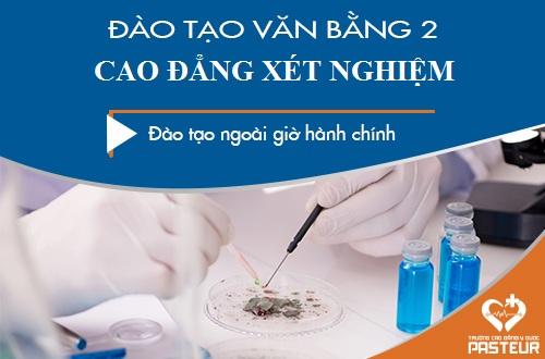 Xét tuyển Văn bằng 2 Cao đẳng Xét nghiệm Sài Gòn năm 2018 ở đâu chất lượng?