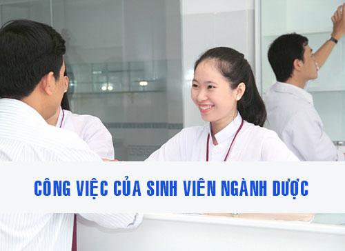 Công việc làm thêm của sinh viên ngành Y dược vốn rất đa dạng