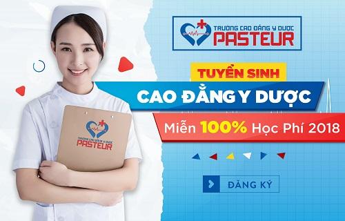 Trường Cao đẳng Y dược Pasteur áp dụng hình thức xét tuyển học bạ năm 2018