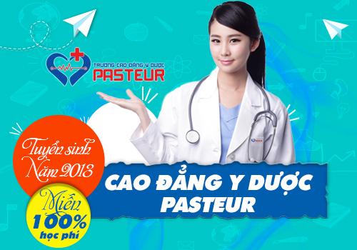 Trường Cao đẳng Y dược Pasteur thông báo tuyển sinh năm 2018