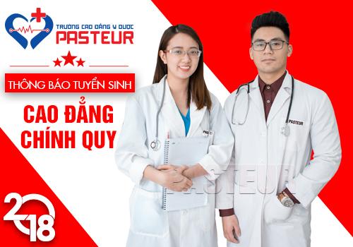 Năm 2018 Trường Cao đẳng Y dược Pasteur tuyển sinh làm nhiều đợt trong năm