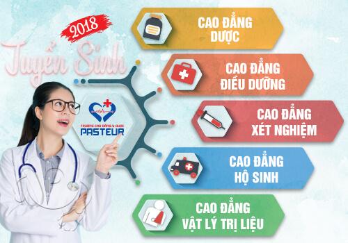 Trường Cao đẳng Y dược Pasteur mở rộng thời gian tuyển sinh trong năm 2018