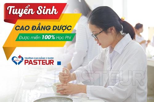 Năm 2018 Trường Cao đẳng Y dược Pasteur áp dụng chương trình miễn giảm 100% học phí