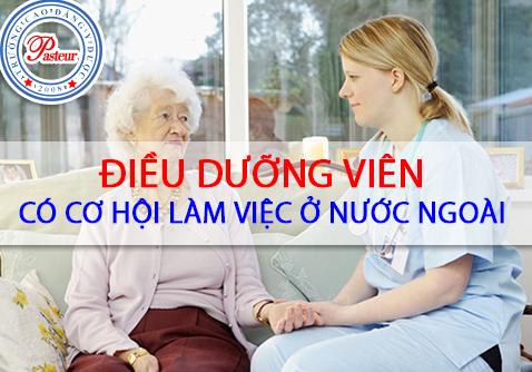 Tốt nghiệp Điều dưỡng sinh viên có thể ứng tuyển và phát triển công việc tại thị trường nước ngoài
