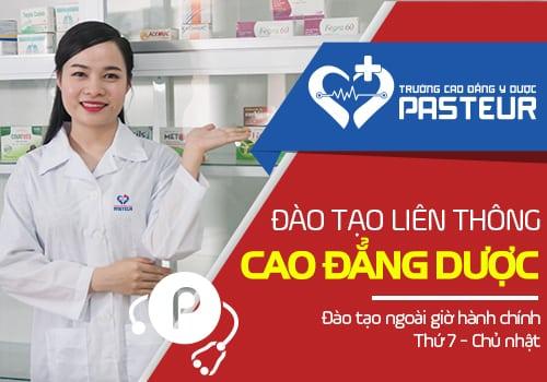 Trường Cao đẳng Y dược Pasteur địa chỉ học Liên thông Cao đẳng Dược uy tín và chất lượng