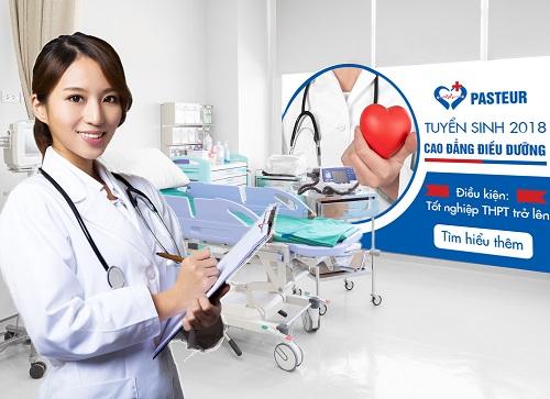 Trường Cao đẳng Y dược Pasteur địa chỉ đào tạo ngành Điều dưỡng viên chuyên nghiệp