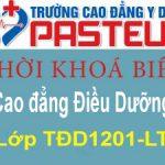 Thời khóa biểu lớp Cao đẳng Điều Dưỡng TĐD1201-LT – Khóa 12