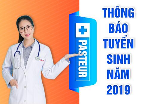 Thông báo tuyển sinh Cao đẳng Y Dược năm 2019