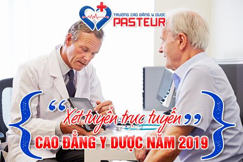 Đăng ký xét tuyển trực tuyến tại Trường Cao đẳng Y Dược Pasteur