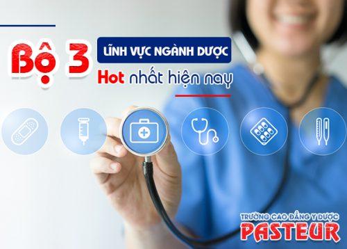 Trường Cao đẳng Y Dược Pasteur chỉ đào tạo những ngành Y tế mũi nhọn