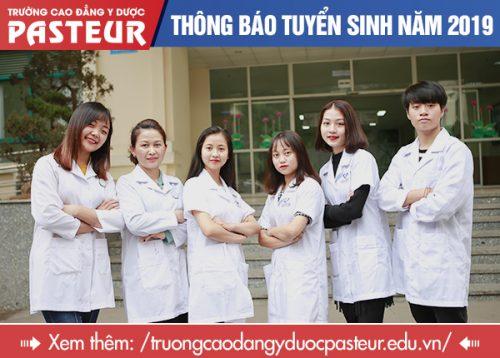 Thông tin tuyển sinh Cao đẳng Y Dược - Trường Cao đẳng Y Dược Pasteur