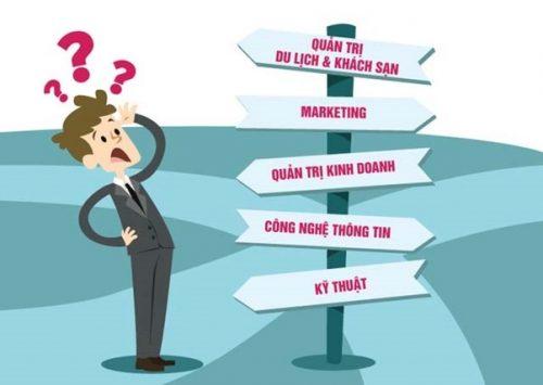 Bước 2: Chọn ngành cân bằng giữa sở thích và nhu cầu xã hội
