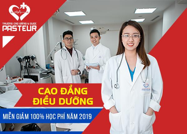 Trường Cao đẳng Y Dược Pasteur thông báo xét tuyển bổ sung Cao đẳng Điều dưỡng học tại Hà Nội