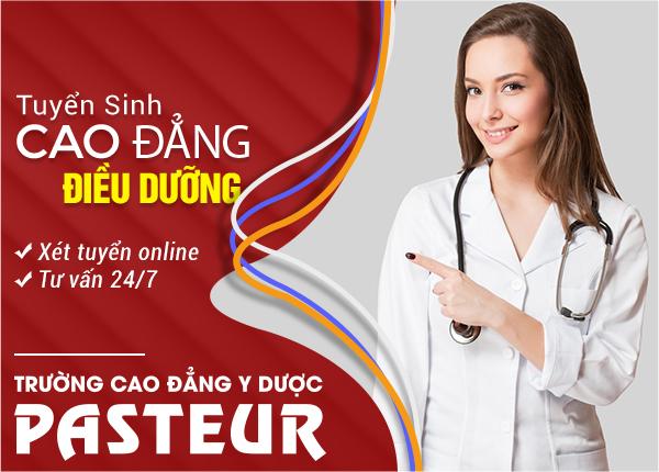 Trường Cao đẳng Y Dược Pasteur còn xét tuyển Cao đẳng Điều dưỡng hay không?