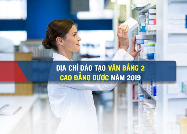 Đào tạo văn bằng 2 Cao đẳng Dược tại Hà Nội