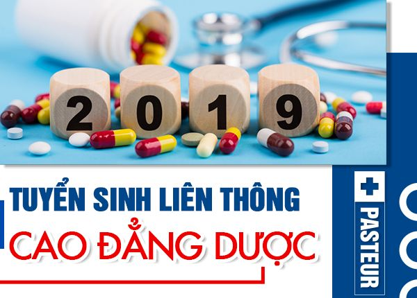 Tuyển sinh liên thông Cao đẳng Dược năm 2019
