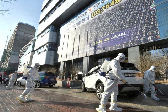 Số ca nhiễm COVID-19 tại Hàn Quốc đã tăng đột biến trong vài ngày qua