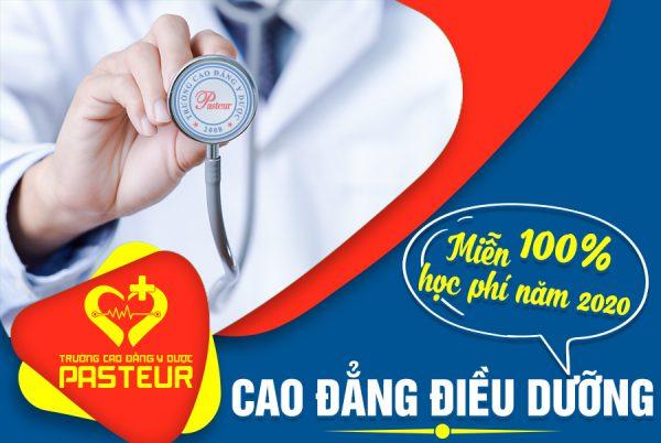 Miễn 100% học phí Cao đẳng Điều dưỡng Hà Nội năm 2020