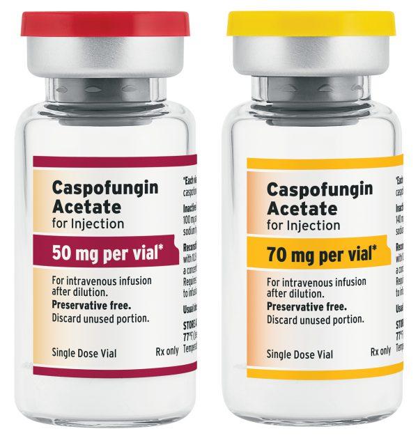 Thông tin về thuốc caspofungin cho các đối tượng dùng