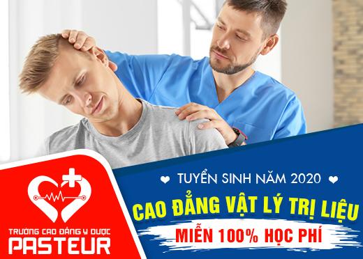 Miễn 100% học phí Cao đẳng Vật lý trị liệu tại Hà Nội