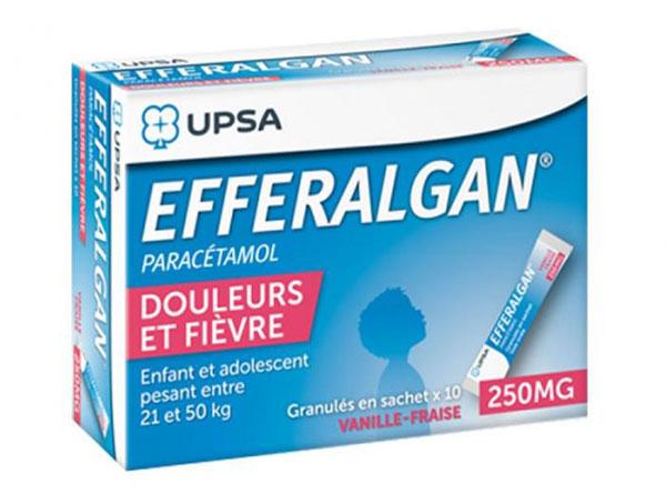 Efferalgan: Hàm lượng, tác dụng, cách dùng thuốc chuẩn