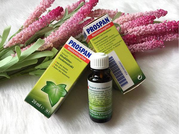 Prospan® cần dùng theo chỉ định của bác sĩ