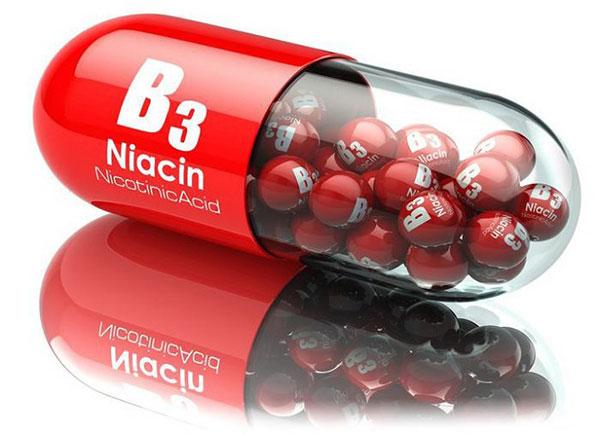 Vitamin B3 (niacin) hay còn gọi là niacin hoặc axit niconitic