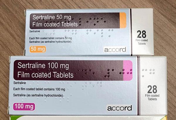 Thuốc Sertraline dùng liều lượng theo chỉ định của bác sĩ/dược sĩ
