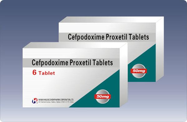 Hướng dẫn liều dùng thuốc Cefpodoxime