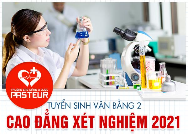 Văn bằng 2 Cao đẳng Xét nghiệm Hà Nội tuyển sinh trên cả nước