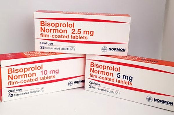Cập nhật thông tin về liều dùng thuốc bisoprolol
