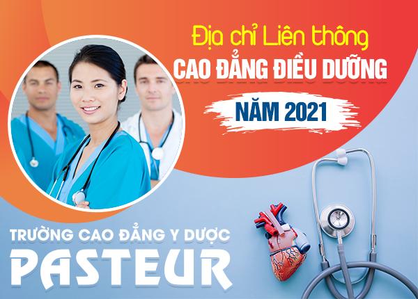 Địa chỉ Liên thông Cao đẳng Điều dưỡng uy tín năm 2021