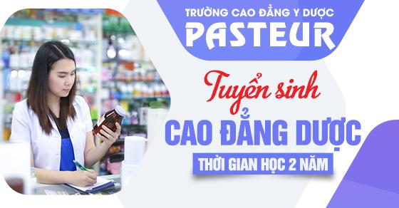 Tuyển sinh Cao đẳng Dược hệ đào tạo 2 năm tại Hà Nội