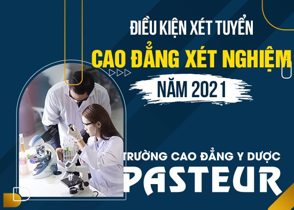 Tuyển sinh Cao đẳng Xét nghiệm năm 2021 chỉ cần tốt nghiệp THPT